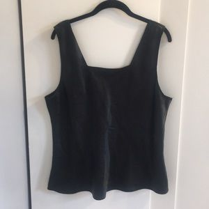 SILKY BLACK CAMISOLE